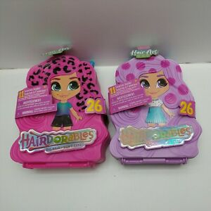 Hairdorables-Doll-Hair-Art-Carry-Case-x-2-No-Cellophane-Around-Packaging-S1