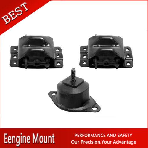 Westar-Auto Trans /& Engine Motor Mount Set 3X For 87-1991 R3500 V8 7.4L 454cid