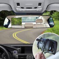 Soundlogic Xt Hd Dual Universal Auto Rear View Mirror Safety Dash Cam Recorder on sale