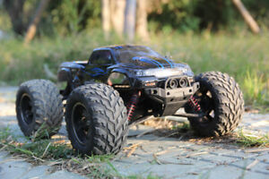 1 12 2.4g High Speed Alloy RC Monster Truck Remote Control off Road Car RTR Toy Gold