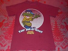 Dig'Em Frog Honey Smacks Your Pad or Mine Kelloggs Cereal T-Shirt Mens Small