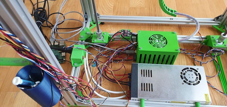 3D Printer, Custom, D-Bot Core-XY