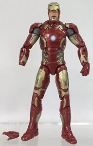 """Marvel Legends Iron Man MK 43 Action Figure Armor Age of Ultron Avengers 6/"""" Toy"""