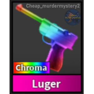 Murder Mystery 2 MM2 Chroma Luger Roblox *FAST DELIVERY* Read Description