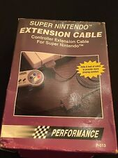 Performance SNES Super Nintendo Controller Extension Cable Boxed 1.8 Meters