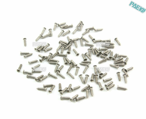 600 M1.2*5mm 304 Stainless Steel Phillips Countersunk Head Self Tapping Screw
