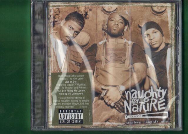 NAUGHTY BY NATURE - NINETEEN NAUGHTY NINE  CD NUOVO SIGILLATO