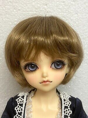 Monique Gold Synthetic Mohair BUBBLES GINGER BROWN   size 4   NEW MINT