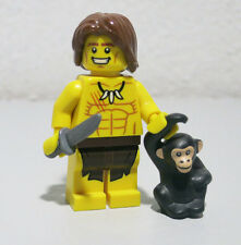 Jungle Boy Tarzan Series 7 Monkey Lego Minifigure figure Mini fig Minifig