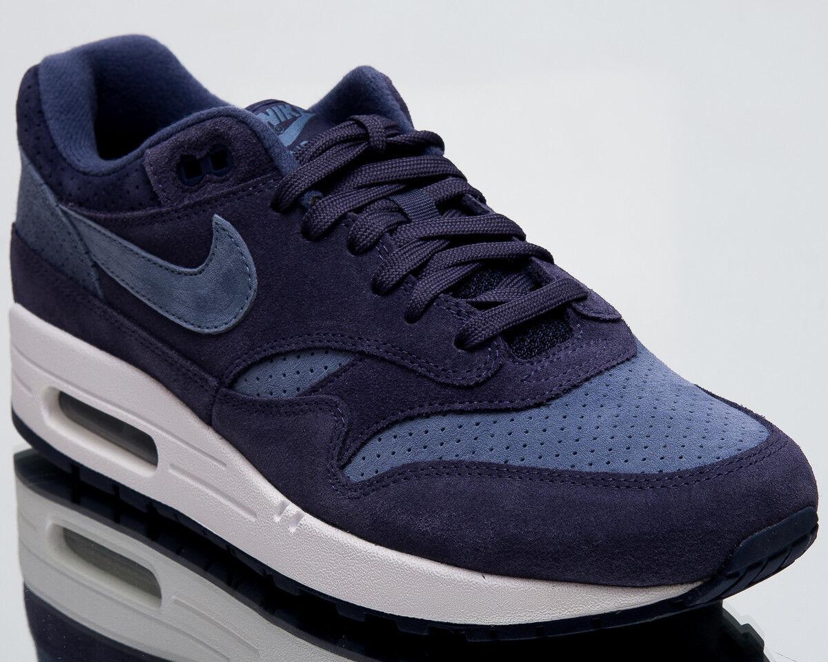 Nike Air Max 1 Premium Herren Neue Schuhe Neutral indigó cipők 875844-501