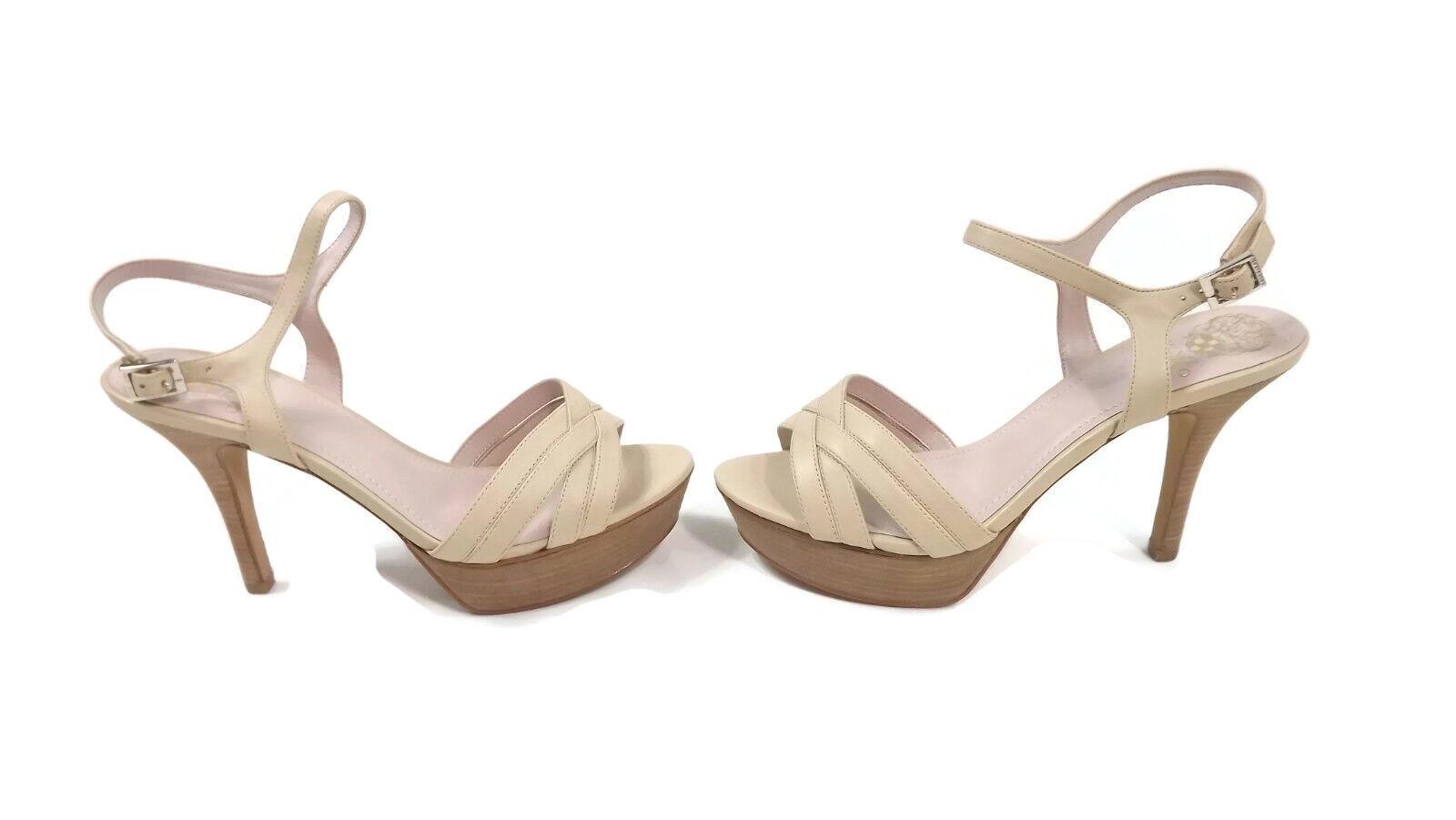 spedizione veloce in tutto il mondo Vince Camuto VC-Paden Platform Platform Platform  Strappy Sandals scarpe Dimensione 10 W Petal  Neutral  vendita scontata