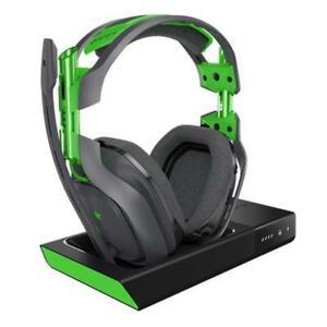 ASTRO-Gaming-por-Logitech-A50-Auricular-Inalambrico-Estacion-Base-XBOX-Gris-Verde