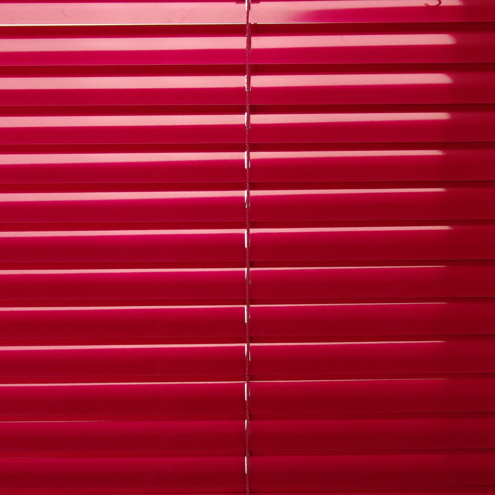 Alu Jalousie Aluminium Lamelle Fenster Rollo Jalousette 120 x 160 160 160 rot Magnolia | Shop  ea482b