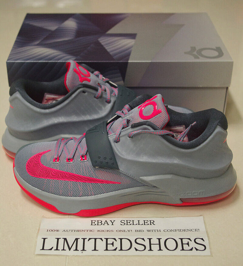 NIKE KD VIl 7 CALM BEFORE THE STORM  653996-060 US 7.5 ~ 12 SZIE id x still oreo