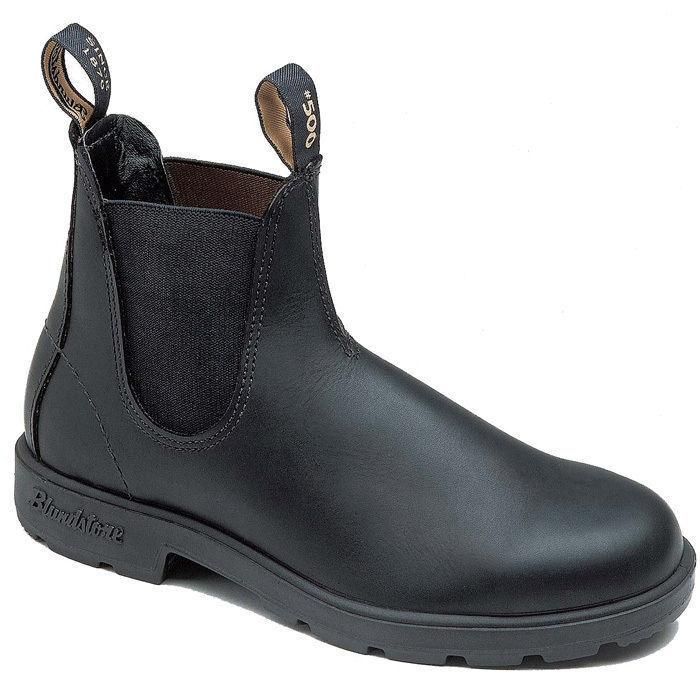 Blundstone 510 Chisel Toe Nero Stivali Premium in Pelle Classico Stivali Nero Australia 526744