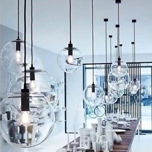 Glaskugel Pendelleuchte Wohnzimmer Lampe Deckenleuchten Kronleuchter ...