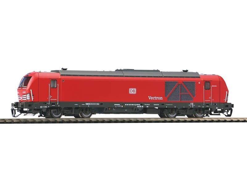 Piko 47396 diesellok Vectron br 247 DB Cochego, época VI, plux22, pista TT
