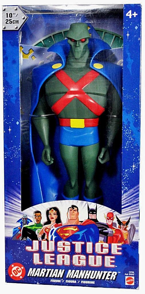 DC SuperHeroes_JUSTICE LEAGUE Collection_MARTIAN MANHUNTER 10   figure_New & MIB