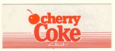 "Red and White Coke Vending Machine Insert 1 3//8/"" x 3 3//8/"""