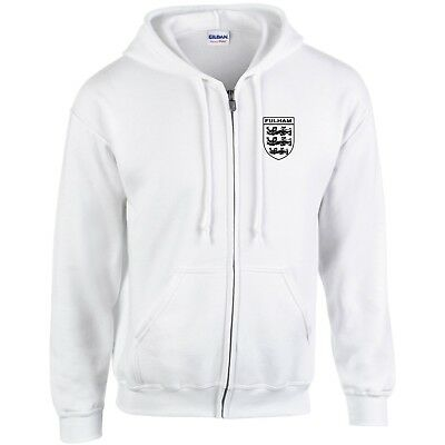 Sheffield Wednesday  3 Lions Club And Country Small Crest Zip Hoodie Mens