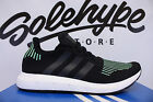 ADIDAS SWIFT RUN PK BLACK GREEN WHITE PRIMEKNIT RUNNING SHOE NMD CG4110 SZ 14
