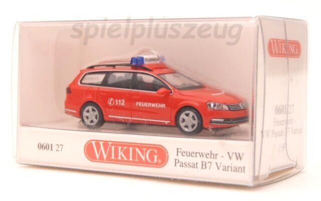 Wiking 060127 Feuerwehr - VW Passat B7 Variant NEU OVP