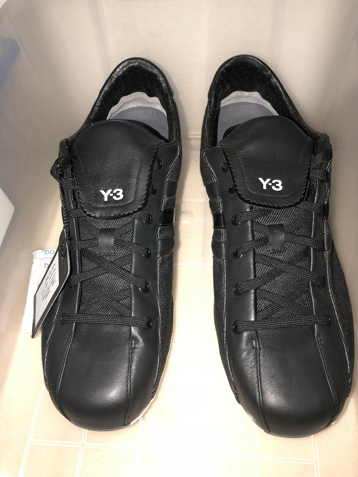 Y-3 Adidas Yohji Yamamoto Sz 9 Field Classics SAMPLE