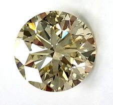 GIA Certified Round Cut Natural LOOSE DIAMOND 2.19 Carat S - T Color SI1 Clarity