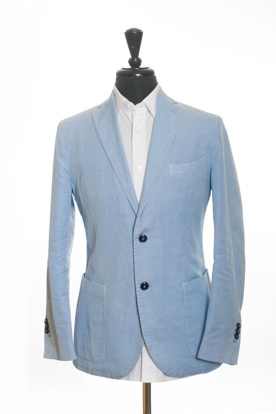 LBM 1911 Light bluee Cotton Blazer 40R 11728