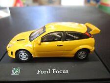 Cararama 1:72 Ford Focus Rallye Diecast Model w/ Display Case