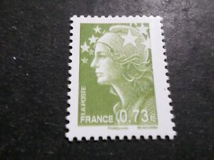 France 2009 Timbre 4415, Couleurs Marianne Beaujard Europe, Neuf**, Mnh Stamp