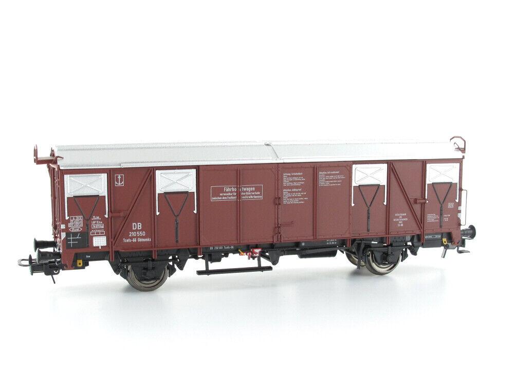 Modellbahn Union MU-H0-G66007 Güterwagen FährStiefelwagen Tcefs Gbtmks 66 H0 Gleich    Zarte