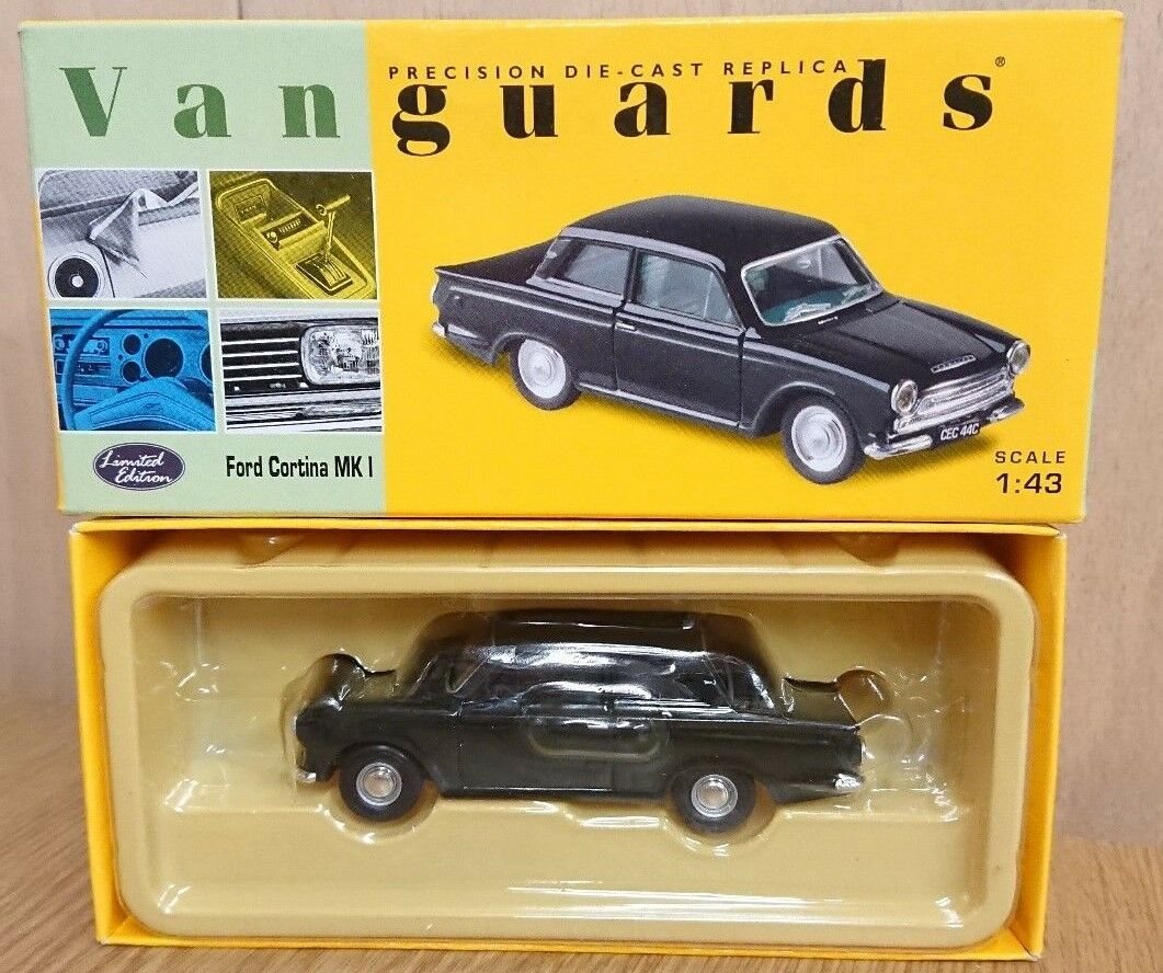 Corgi VA07300 Ford Cortina MkI braträ grön Ltd. 0002 of 7300