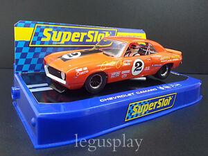 Grosses Soldes Slot Scx Scalextric Superslot H3611 Chevrolet Camaro 1969 Nº2 Joe Chamberlain