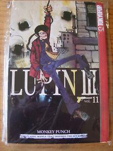 LUPIN-III-Monkey-Punch-Vol-11-Manga-Graphic-Novel-English-TOKYOPOP-RARE