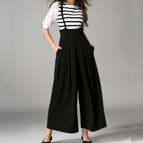 con pantaloni a colori vita 3 donna gamba incrociato e a a Pantalone cintura da larga RXUP4nnq