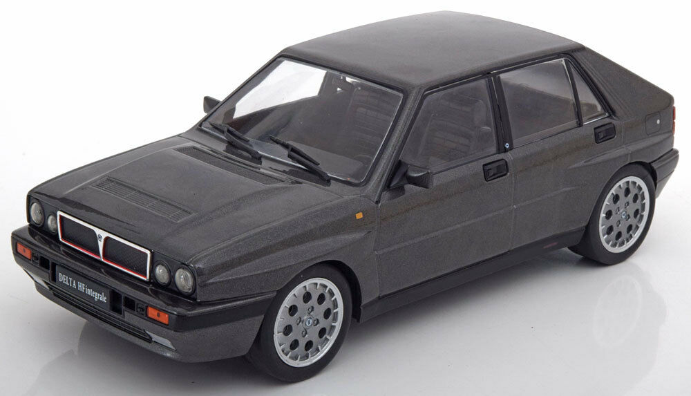 Triple 9 1990 Lancia Delta HF Integrale 16V grau Metallic 1 18 Scale New Release
