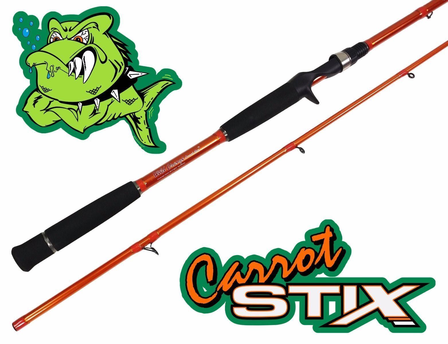 Carred Stix CASTING 9' MEDIUM HEAVY WILD orange Salmon Steelhead Fishing Rod