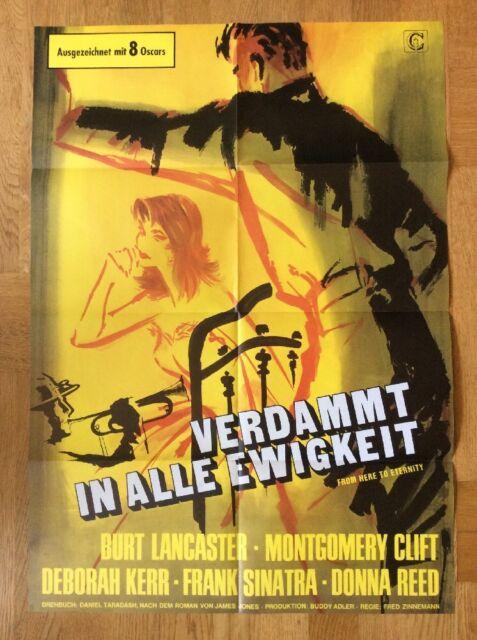 Verdammt in alle Ewigkeit (Kinoplakat ´74) - Burt Lancaster / Deborah Kerr