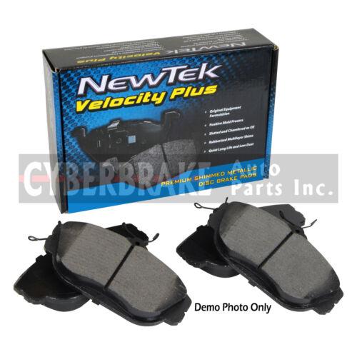 SMD1169 FRONT Semi-Metallic Brake Pads Fits 06-09 Chevrolet Trailblazer