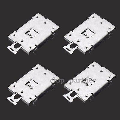 4Pcs Din Rail Mount Socket Base Bracket For SSR Solid State Relay 79*43*13mm