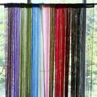 Line String Window Curtain Tassel Door Fringe Panel Room Divider Scarf Valances