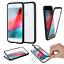 Apple-iPhone-X-360-MAGNET-9h-GLAS-Tasche-CASE-Huelle-Aluminium-Vor-Rueckseite Indexbild 16