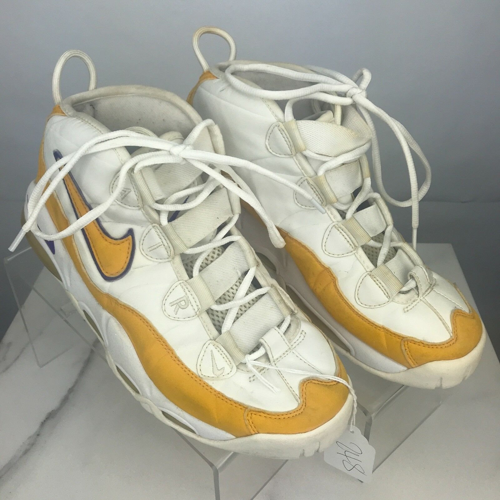 Nike 2003 Air Max Uptempo Del Sol Derek Fisher Lakers 624011-711  Size 8.5