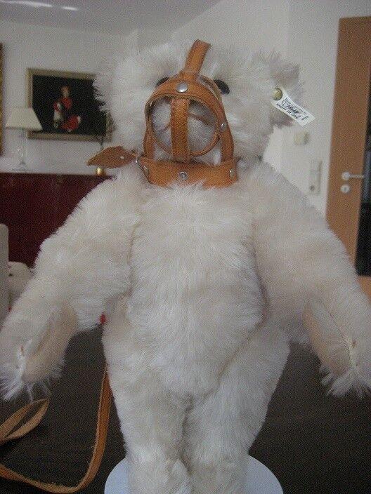 Steiff Maulkorb Teddybär 1908 Weiß, 35 cm,für Sammler, Neu und unbespielt