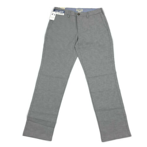 Dockers Mens Pants Clean Khaki Slim Tapered Fit Stretch Gray Wash Variety