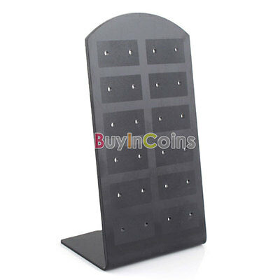 12 36 Pair Acrylic Earrings Stud Display Hole Board Standerd Holder Home Care