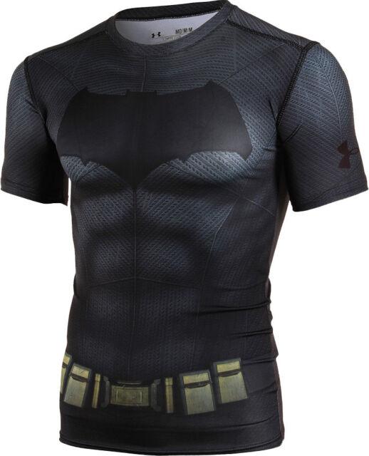 Umeki Escéptico escena  Under Armour Mens Alter Ego Batman Superman Gameday Padded Football Shirt S  for sale online | eBay