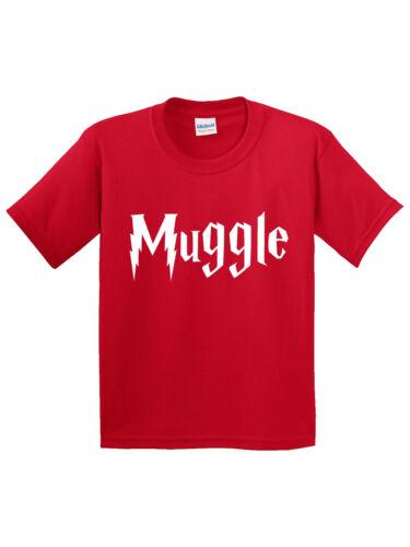Youth T-Shirt Muggle Harry Potter Wizard Magic New Way 928