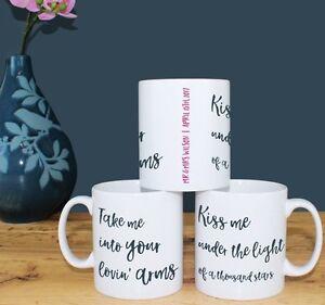 Any-song-lyrics-personalised-print-Wedding-Anniversary-Gift-for-couple-MUG-SET